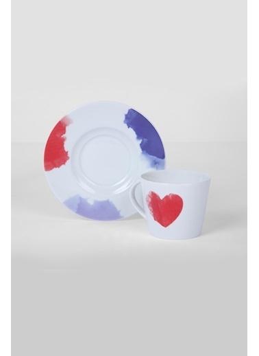 Kütahya Porselen Kütahya Porselen Toledo Çay Takımı 11527 Renkli